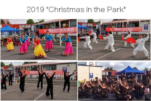 """新奥华人协会参与""""公园中的圣诞""""活动演出"""