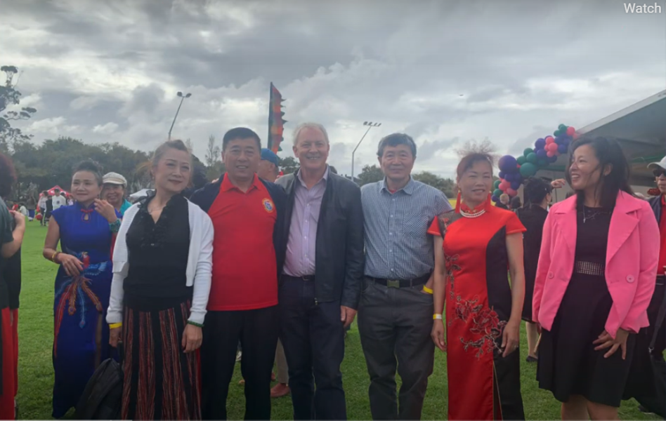 新奥华人恊会参加2021奥克兰文化节